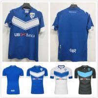 (20) (21)는 브레시아 칼초 축구 유니폼 홈 블루 2020 2021 Zmrhal Cistana Donnarumma Torregrossa Bisoli 사용자 정의 축구 셔츠 유니폼 가기