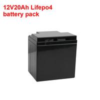 Şarj Edilebilir Derin Döngüsü 12 V 20AH 30AH Lityum İyon Lifepo4 Güneş Sistemi için Pil Paketi / Güç Araçları / UPS