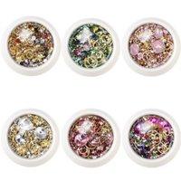 3D DIY Nail Art Fournitures Cristaux Strass Gems Charmes Mélanger Décoration Cristal Gel Gel Glitter Nails Accessoires