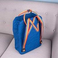 Volpi vari colori all'aperto Colori a nord-ovest di viaggio Polar Zaino impermeabile Rainbow con zaino Phantom Schoolbag da donna