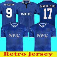 1995 Ferguson Football Retro Shirt Final Shirtout 1987 88 Home Jersey Shirt Jersey Kanchelskis Ridout Horne Futebol