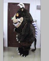 2019 Descuento Fábrica Hot Adult Gruffalo Mascot Disfraz Gruffalo Dibujos animados Traje Gruffalo Venta