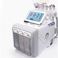 Hydra Yüz Makinesi RF Mikrodermabrazyon Dermabrazyon H2O2 Hidrojen 6 1 Skin Gençleştirme Cilt Analiz Cilt Analizi En İyi Fiyat
