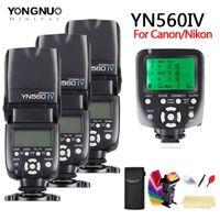 YongNuo YN560 IV YN560IV Speedlite 2.4G sans fil MasterGroup + YN560TX Pentax Pentax appareil photo reflex numérique