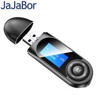 JaJaBor USB المتلقي محول بلوتوث 5.0 استقبال الصوت الارسال AUX 3.5MM الموسيقى ستيريو محولات لاسلكية للسيارة TV PC
