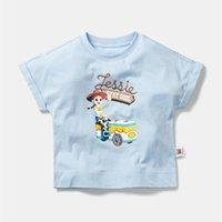 Mini Balabala Los niños sueltos de manga corta delgada Camiseta de verano Nuevos niños y niñas IP Imprimir Tshirt T200413
