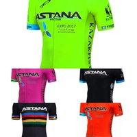 New 2020 Team Astana Team Pro Велоспорт Джерси MTB ROPA Ciclismo Мужские Женщины Летние Велосипеда Майолот Велосипед Джерси Носить Q1222
