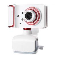 Caméra d'ordinateur, webcam plug-and-play USB avec microphone vidéo en direct12