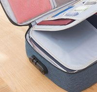 Grande capacidade impermeável bolsa de documento organizador papéis de armazenamento bolsa de credencial arquivo de armazenamento de diploma pock jlloyg trustbde