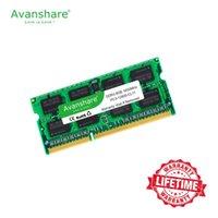 Avanshare DDR3L SODIMM 4GB 8GB 1333MHz ou 1600MHz 1.35V PC3L memória portátil ram