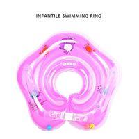 Natação Bebê Pools Acessórios Bebê Inflável Anel Pescoço Rodas Infláveis Para Recém-nascidos Banhando Círculo De Segurança De Segurança Bóia