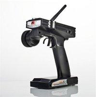 Flysky FS-GT3B FS GT3B 2.4G 3CH Gun RC-systemsändare med mottagare för RC-bilbåt med LED-skärm