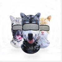 Fronte 3D Animal Mask 3D Stampato protettivo che copre Animal Print riutilizzabile lavabile Bocca maschera adulti 9 disegni maschere WY919w