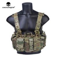 Emersongear Caccia petto petto MF Style Tactical Chest Rig UW Gen IV Gilet da caccia Cablaggio Spalato Anteriore Carrier Portatore militare ARMY Gear 201215