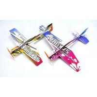 Mini RC Airplane 3D Aerobatic Flying Aircraft PPP / PP Foam Glider giocattoli aerei Alare Pan 451mm Modello fai da te Aeroplano Aeroplano Kit non assicurato Y200413