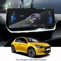 7-дюймовый 10-дюймовый стайлинг автомобилей для Peugeot 208 2020-настоящая GPS навигация экрана пленки дисплей экран пленки интерьера наклейки аксессуар