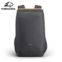 Kingsons New Multifunction 15'' Laptop Backpacks USB Charging Backpack Anti-thief Bag Men Women schoolbag Travel Mochila Hot C1008