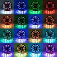 البلاستيك 150-LED 12V-5050RGB IR44 ضوء مجموعة قطاع مع الأشعة تحت الحمراء وحدة تحكم عن بعد الأبيض مصباح لوحة