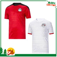 2020 Egitto Home Soccer Jersey Egitto 20 21 Egitto # 10 m Maglia da calcio Salah Away A. Egazi Kahraba Ramadan M.Elneny Uniformi di calcio