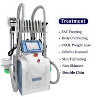 7 in 1 360 ° Cryolipolysis Gefriermaschine Abnehmen Ultraschallkavitation 40k Ultraschallfett Burning Lipo Laser-Schönheitsmassage