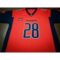 Benutzerdefinierte 121 Jugendfrauen XFL Houstons Grobbecks 11 Phillip Walker 28 Harris Football Jersey Größe S-4XL oder benutzerdefinierte JEDE NAME ODER NUMMER JERSEY