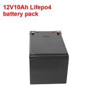 Lithium ijzeren fosfaatbatterij 12.8V 12V 10AH LIFEPO4 Noodverlichting UPS Solar System Batterij