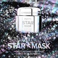 PNY7'nin yüz yıldız yırtılma derinliği ikmal nemlendirici gözenek parlayan peel cilt bakımı fantezi renk yüz maskesi