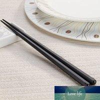 1 пар японских палочек сплав Нескользящих суши палочки Набор китайского подарков Chopstick Palillos Chinos Багет CHINOISE