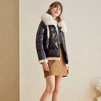 CEPRASK New Winter Jacket Women Plus Size Fashionable Women's Winter Coat Hooded Fur Warm Down Jacket Parka outerwear 201015