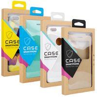 Boîte d'emballage de boîtes de téléphone de l'emballage de détail pour iPhone 11 Pro Max XR Kraft Emballage pour S10 Plus Coque Téléphone