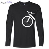NUOVO STILE NIZZA BICICLETTA Bike Design shubuzhi uomo T-shirt sono arrivati Autunno caldo di vendita di marca cotone casuale a maniche lunghe o-collo della maglietta 201004