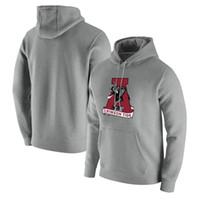 Alabama Crimson Tide Heathered Grey logo club in pilloo pullover felpa con cappuccio Florida Gators Royal Mens Felpa Grigio