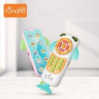 Tumama Baby мобильный телефон кита образовательные музыкальные игрушки мобильный телефон ребенок образовательный телефон английский учебный мобильный телефон Juguetes LJ201113