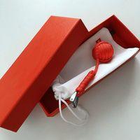 New Cotton Seil Woven Lanyard Schlüsselanhänger Kugel Anhänger Schlüsselanhänger Schlüsselanhänger Fußball-Schlüsselanhänger 5 Farben
