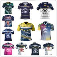 2021 Yeni Rugby Kovboy Formaları Gömlek Thurston Taumalolo Scott Morgan Feldt Bolton Barba Sıcak Jensen Gilbert Şort