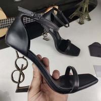 New Fashion Ladies High Tacchi alti Squisiti e comodi cinturini Donne Lettere Tacco alto Stivali in pelle Stivali in pelle Shoe10 01