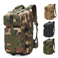 Outdoor-Taschen 35L Große Kapazität Männer Taktische Rucksäcke Angriffsetasche 8 für 3P Packung Trekking Jagd Camping im Freien