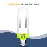 새로운 디자인 E27 옥수수 전구 10W 15W 20W 앰플 LED 110V E14 220V Bombilla 스마트 IC 홈 전구 아니 깜박임 에너지 절약