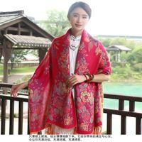 Bufandas diseñador marca bufanda mujeres otoño primavera estilo japonés fresco largo étnico impresión cape mantón silenciador invierno viaje manta