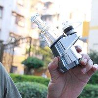 SOC plus récent G9 authentique Greenlightvapeas Temp contrôle de cire concentré d'huile ENail sec Herb Vaporizer 2600mAh verre d'eau Dab Rig E Kit Nail