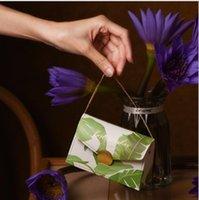 웨딩 사탕 상자 핸드백 설탕 상자 토트 백 축제 포장 상자 절묘한 사탕 상자 손 선물 결혼식 용품 DDC5815