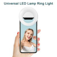 Universal LED Lamp Ring Light Clip Selfie Fill Enhancing USB...