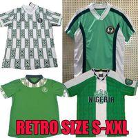 1994 1996 1998 1999 Retro Nigéria Soccer Jersey Okocha Starboy Futebol shirt uniformes de futebol Okechukwu Dayo Ojo Osas Okoro clássico