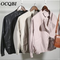 Korean Style Fashion Casual Loose Streetwear Coats and Jacke...