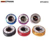 Epman Горячая распродажа тонкой версии Рулевое колесо быстрого выпуска для универсального (синий, красный, черный, золотой, серебристый, фиолетовый) epca0012