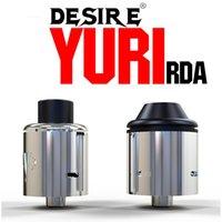 オリジナルの欲求Yuri RDAアトマイザー22mmラージビルディングデッキトップアンチフライラードデザイン欲望RDAアトマイザータンクVSメッシュRDA RBA RTA