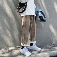 Мужские брюки E-Baihui мужская корейская пледа повседневная гарем 2021 черные спортивные штаны женские шикарные хараджуку свободные хип-хоп joggers