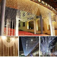 3m X 3m 300 LED Light LED Curtain Lamp Romantic Christmas De...