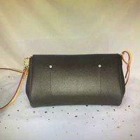 M40718 Favori MM Klasik Çanta Moda Kadınlar Crossbody Çanta Zincir Omuz Çantaları Deri Damier Azur Ebene Tuval Çapraz Vücut Çantası N41275