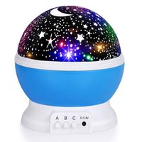 Kids LED Lamp Light Toys Circular Rotate Battery Power Starr...